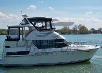 350 Carver Bridge & Aft Deck Enclosure