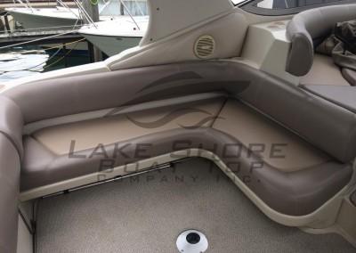Cockpit Seats & Upholstered Back Rest