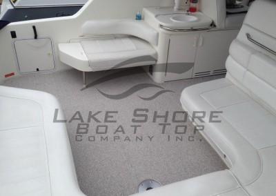 Desert Sand Marine Berber Full Cockpit Carpet with Table Opening