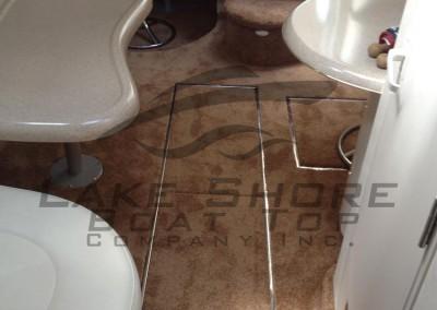 Interior Plush Carpet with multiple Custom Hatch Openings