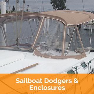 Sailboat Dodgers & Enclosures